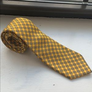 Men's Yellow Tie